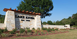 Lake Kiowa Front Gate